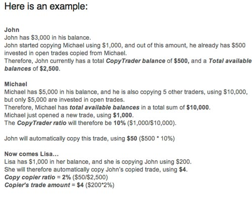 OpenBook's New CopyTrader Allocation Ratios